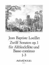 12 Sonaten Opus 1 Volume 1 - laflutedepan.com
