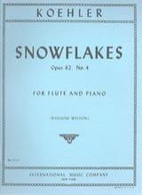Ernesto KÖHLER - Fiocchi di neve op. 82 n ° 4 - Partitura - di-arezzo.it