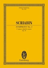 Alexandre Scriabine - Symphony Nr. 2 C-Moll, Op. 29 - Conductor - Sheet Music - di-arezzo.com