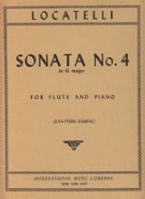 Sonata n° 4 in G major – Flute piano - laflutedepan.com