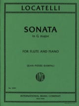 Sonata in G major - Flute piano laflutedepan.com