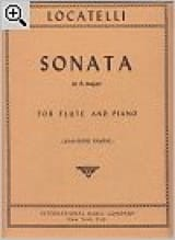 Sonata in A major - Flute piano laflutedepan.com