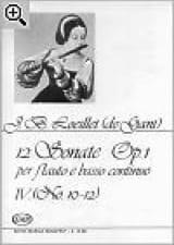 12 Sonates op. 1 - Volume 4 : n° 10-12 - flauto e basso continuo laflutedepan.com