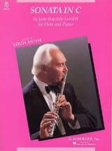 Jean-Baptiste Loeillet - Sonata in C - Flute piano - Partition - di-arezzo.fr