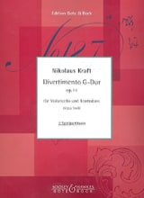Divertimento en sol majeur op. 14 Nikolaus Kraft laflutedepan.com