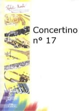 Concertino n° 17 Julien Porret Partition Basson - laflutedepan.com