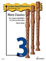 More Classics Volume 3 - Trios Faciles Flûtes A Bec - laflutedepan.com