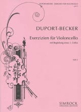 Exercises for Violoncello – Volume 2 (14-21) laflutedepan.com