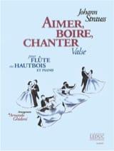 Aimer, boire et chanter -Flûte ou hautbois et piano laflutedepan.com