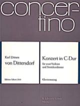 Concerto C-Dur -2 Violinen Klavier laflutedepan.com