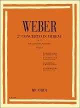 Concerto Clarinette n° 2 mib majeur op. 74 laflutedepan.com