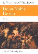 Dona nobis pacem - Score WILLIAMS VAUGHAN Partition laflutedepan