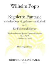 Rigoletto Fantasie op. 335 - Flöte Klavier laflutedepan.com