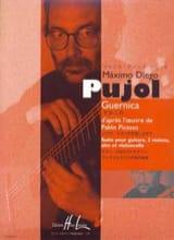 Maximo Diego Pujol - Guernica d'après l'oeuvre de Pablo Picasso - Partition - di-arezzo.fr