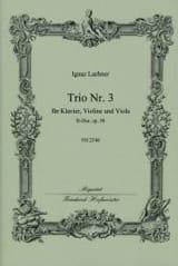 Trio Nr. 3 D-Dur op. 58 Ignaz Lachner Partition Trios - laflutedepan