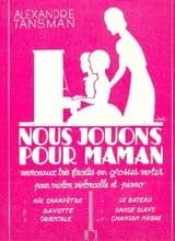 Nous jouons pour maman - n° 6 : Chanson nègre - laflutedepan.com