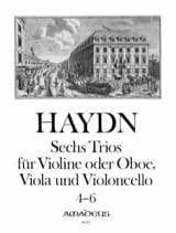 6 Trios Bd. 2 -Stimmen Joseph Haydn Partition laflutedepan.com