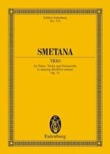 Klavier-Trio g-moll - Bedrich Smetana - Partition - laflutedepan.com