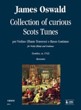 James Oswald - Collection of curious Scots tunes - Partition - di-arezzo.fr