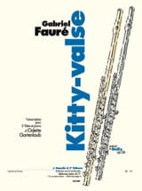 Kitty-Valse - 2 flûtes et piano laflutedepan.com