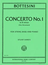 Concerto n°1 in B minor - String bass laflutedepan.com