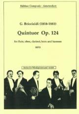 Quintuor op. 124 –Windquintett - Giulio Briccialdi - laflutedepan.com