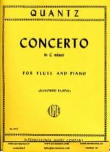 Johann Joachim Quantz - Concerto in C minor - Piano flute - Sheet Music - di-arezzo.com