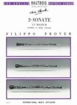 2e Sonate en ut majeur -Hautbois et basse coontinue laflutedepan.com