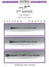 5e Sonate en sol majeur - Hautbois et basse continue laflutedepan.com