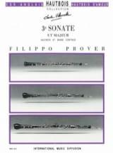 3e Sonate en ré majeur - Hautbois et basse continue laflutedepan.com