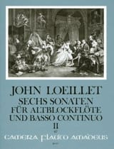 6 Sonaten op. 3 - Volume 2 - Altblockflöte u. Bc laflutedepan.com