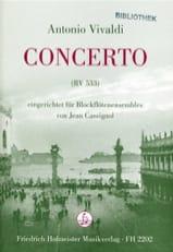 Concerto Rv 533 Antonio Vivaldi Partition laflutedepan.com