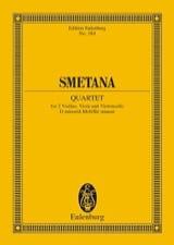 Streich-Quartett D-Moll (N° 2) Bedrich Smetana laflutedepan.com