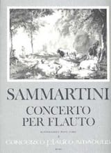 SAMMARTINI - Concerto for Flauto - Sheet Music - di-arezzo.com