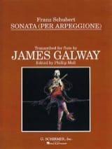 Franz Schubert - Sonata Arpeggione – Flute piano - Partition - di-arezzo.fr