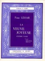 La Veuve Joyeuse Franz Lehar Partition Violon - laflutedepan.com