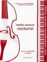Nocturne Pierre Ancelin Partition Violoncelle - laflutedepan.com