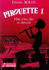 Pirouette 1 Etienne Rolin Partition Flûte à bec - laflutedepan.com