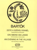 BARTOK - Ein Abend am Lande - Cello - Sheet Music - di-arezzo.co.uk