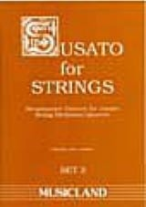 Susato for Strings - Set 3 - String orch. / quartet laflutedepan.com