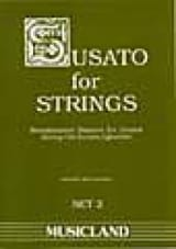 Susato For Strings - Set 2 Partition Quatuors - laflutedepan.com