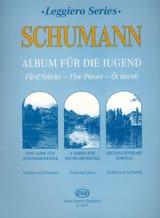 Robert Schumann - Album für die Jugend, 5 Stücke – String orch. (junior) - Partition - di-arezzo.fr