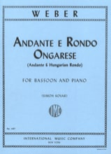 Carl Maria Von Weber - Andante e Rondo ongarese op. 35 - Partition - di-arezzo.fr