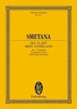 Vysehrad Bedrich Smetana Partition Petit format - laflutedepan.com