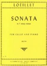 Jean-Baptiste Loeillet - Sonate en fa dièze mineur - Partition - di-arezzo.fr
