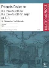 François Devienne - Duo concertant B-Dur op. 67 Nr. 1 (Stimmen) - Partition - di-arezzo.fr