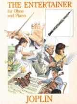 The Entertainer - Oboe piano Scott Joplin Partition laflutedepan.com