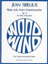 Jean Sibelius - Flute solo from Scaramouche op. 71 – Flute piano - Partition - di-arezzo.fr