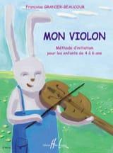 Mon violon Françoise Granier-Beaucour Partition laflutedepan.com