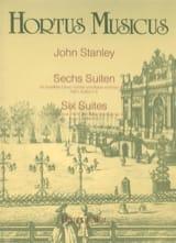 John Stanley - 6 Suiten op. 4 - Heft 1 : Nr. 1-3 – Flöte (Oboe, Violine) u. Bc - Partition - di-arezzo.fr